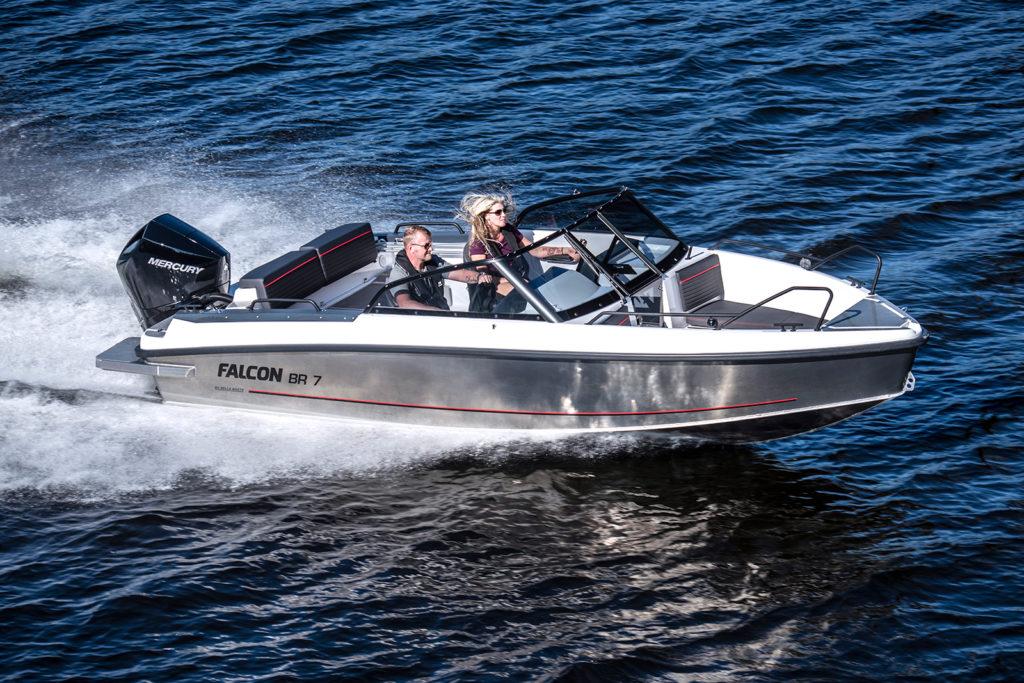 Test med mercury V6-175 DTS - Provkör gärna hos Flipper Marin