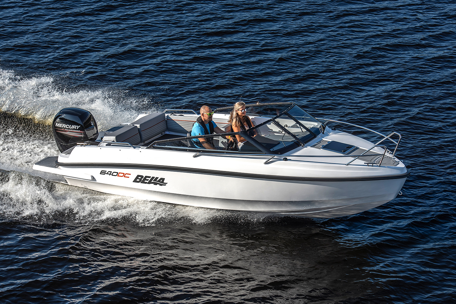 Bella 640DC hos Flipper Marin