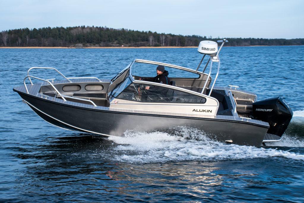 Alukin DP 650 - Nimbus fullföljer förvärv av Alukin Aluminiumbåtar