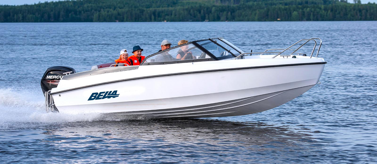 Bella 550 BR hos Flipper Marin