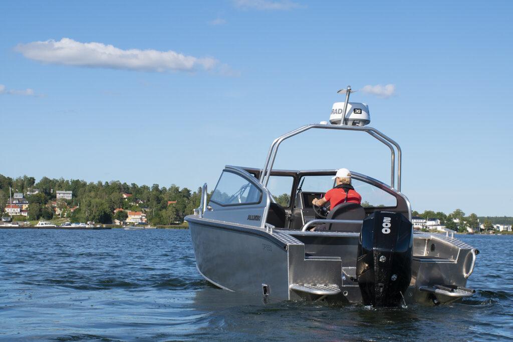 Alukin DP 650 med Mercury V6-200 DTS - Utsågs till testvinnare av Båtliv