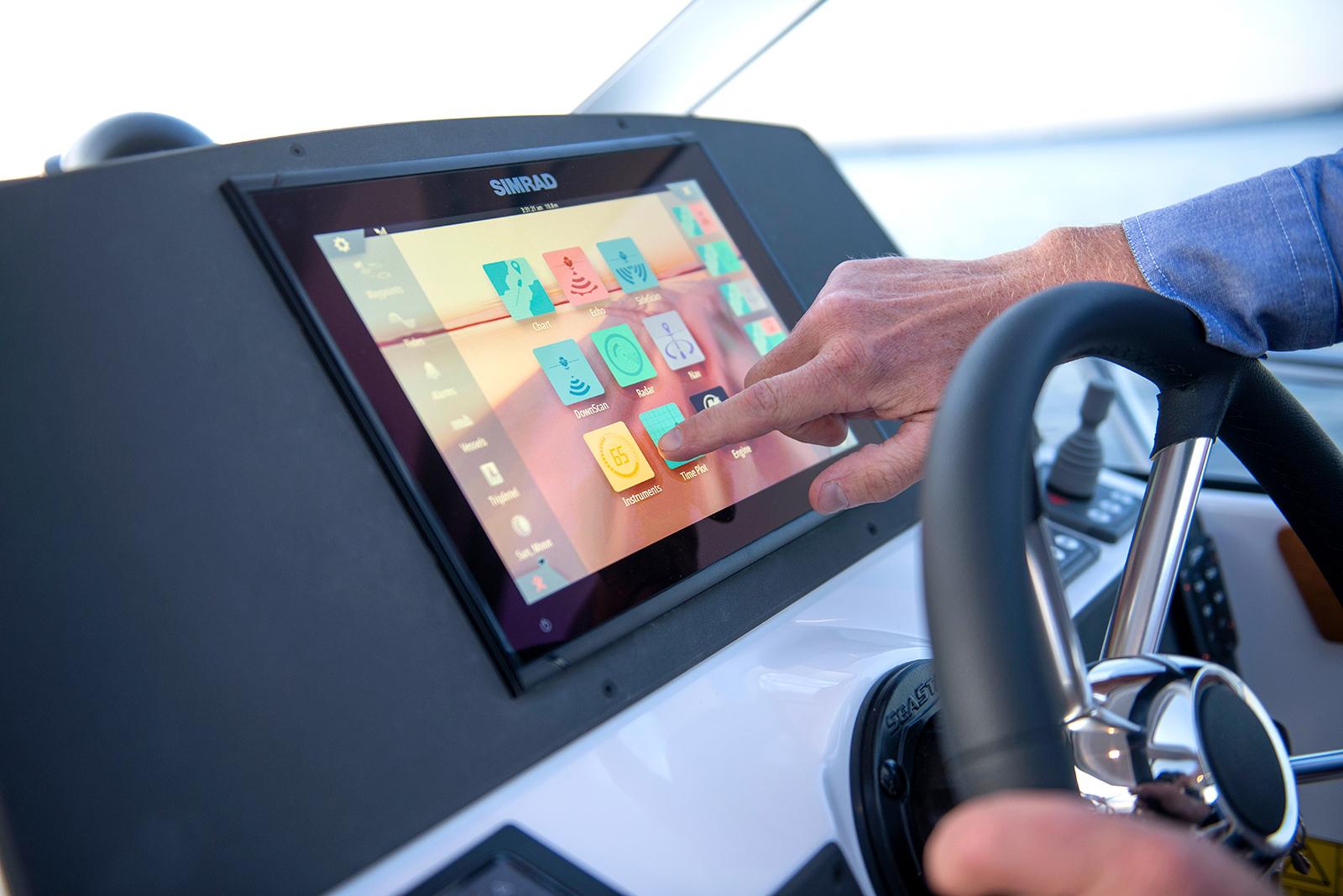 Grunderna hur Simrad GPS fungerar