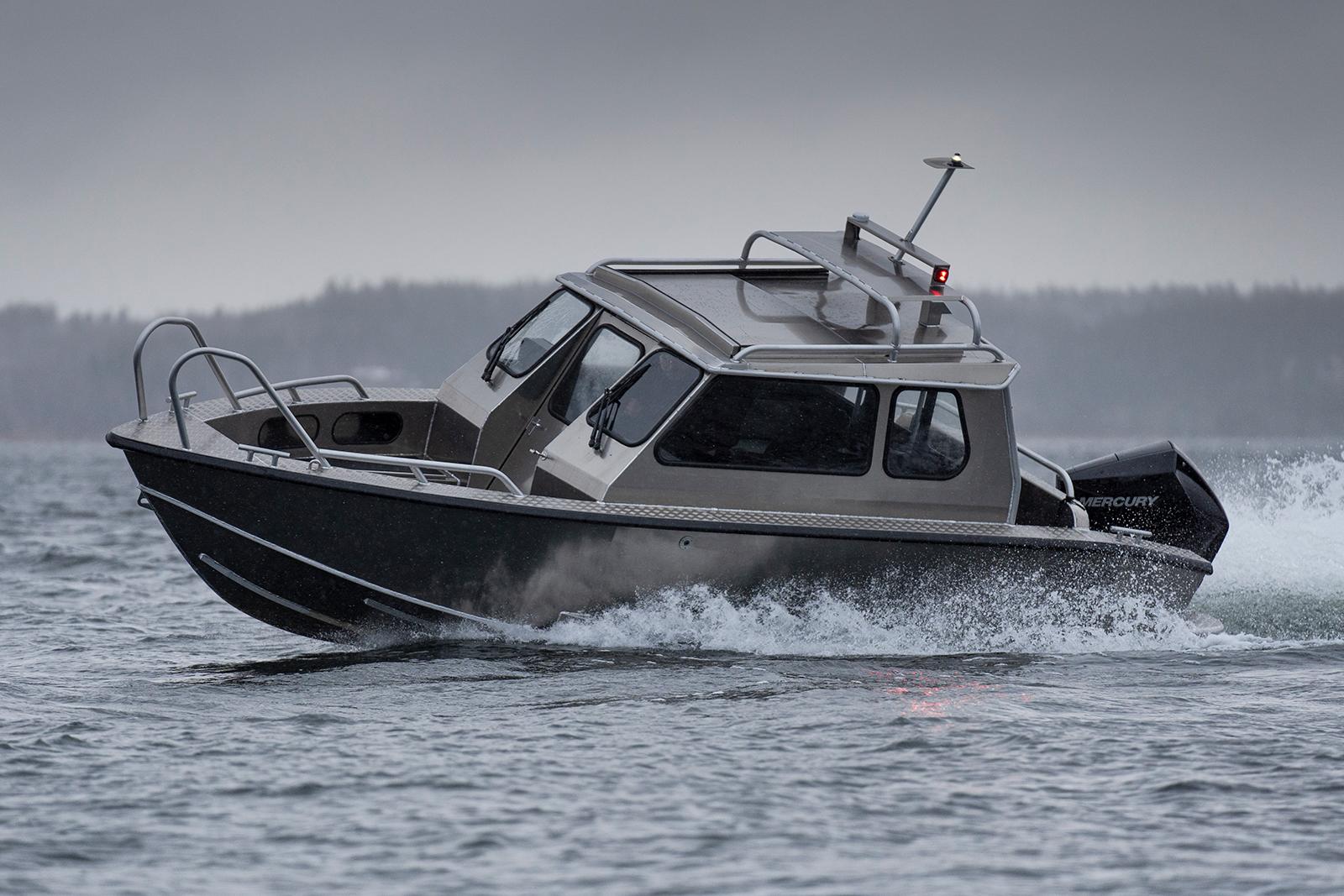 alukin sport cabin (SC) 650 med mercury V6-200 hk
