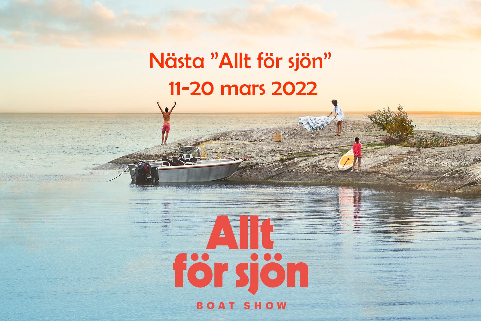 """Nästa """"Allt för sjön"""" äger rum 2022 i Stockholm"""