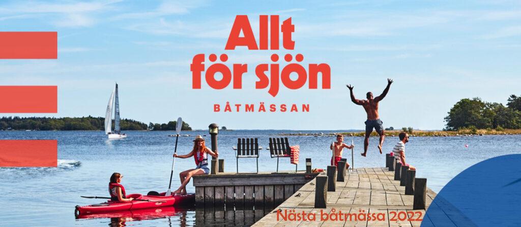 """Nästa båtmässa """"Allt för sjön"""" äger rum 11-20 mars 2022"""