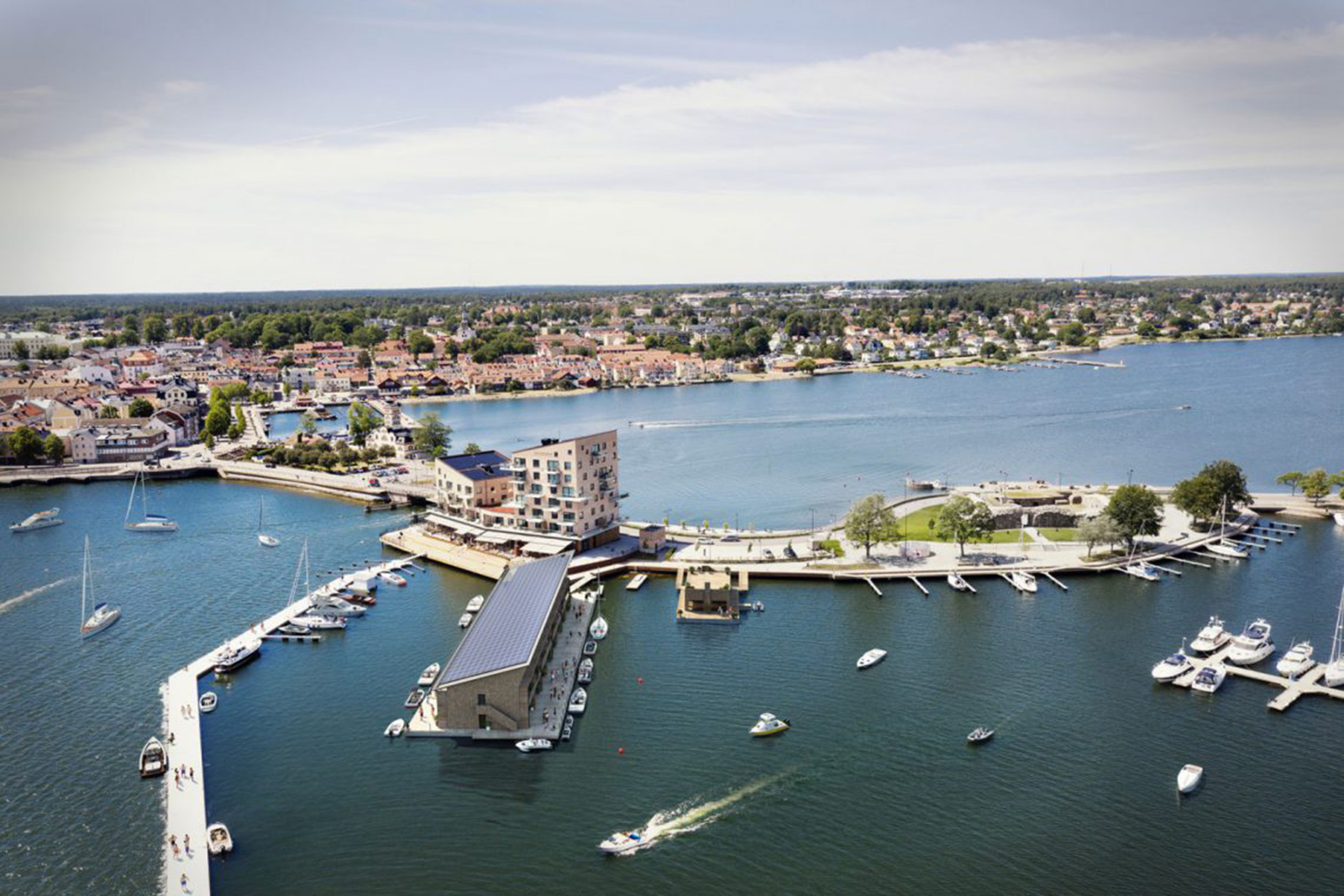 Västervik-Slottskomens marina