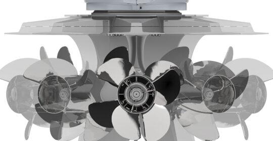 Mercury V12-600 hk