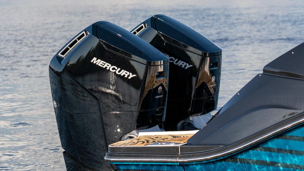 Mercury Verado är en otroligt tyst båtmotor