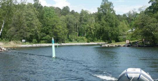 Baggensstäket i en Aquador 25 DC